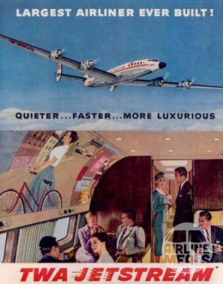 airline ads from the past