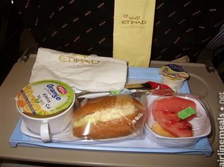 Etihad Airline Us To Auh Food Menu