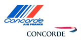Concorde (by British Airways and Air france)