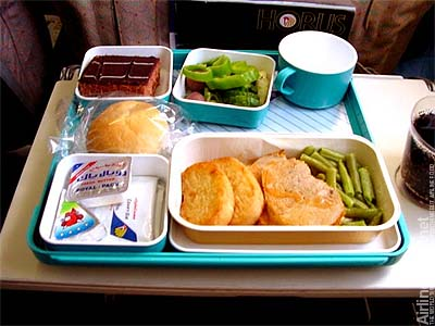 Egypt air comparing modern day airlines Sw meals